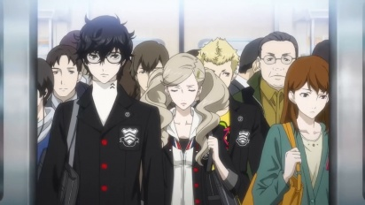 Persona 5 - The Phantom Thieves Go to Work in the Story Trailer