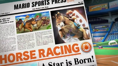 Mario Sports Superstars - Horse Racing Trailer