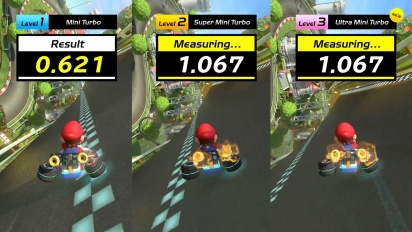 Mario Kart 8 Deluxe - Mini turbo Tutorial