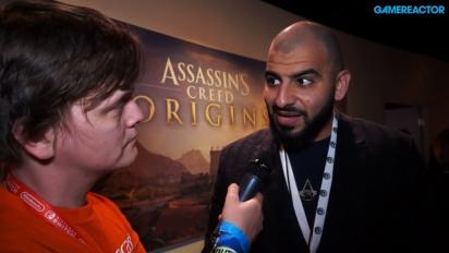 Assassin's Creed Origins - Ashraf Ismail intervjuad