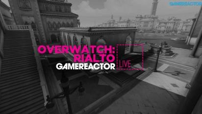 GRTV testspelar nya banan Rialto i Overwatch