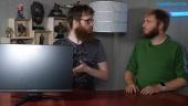 GRTV klämmer lite på skärmen Acer Predator XB2