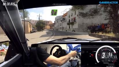 GRTV testar en gammal Lancia i Dirt Rally 2.0