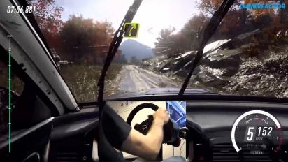 GRTV testar en gammal WRX STi i Dirt Rally 2.0
