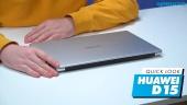 GRTV packar upp nya Huawei Matebook D15
