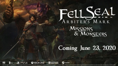 Fell Seal: Arbiter's Mark - Missions and Monsters DLC - Trailer