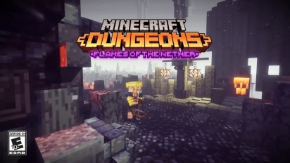 Minecraft Dungeons: Flames of the Nether – Official Launch Trailer