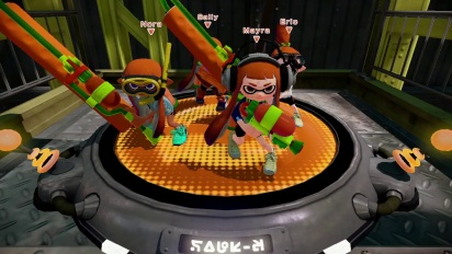 Splatoon - Global Testfire Trailer