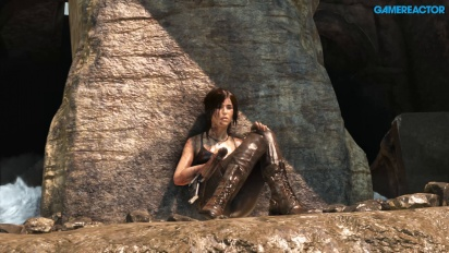 Vi spelar Rise of the Tomb Raider till Xbox One X