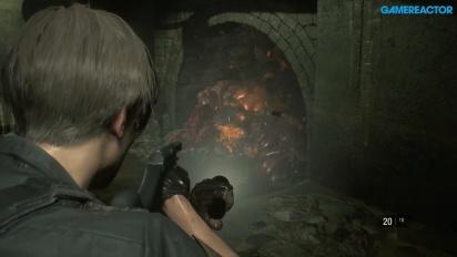 GRTV spelar Resident Evil 2: Leon i kloakerna