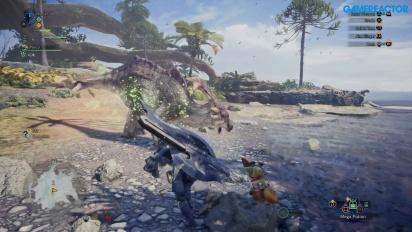 Vi testspelar Monster Hunter World på Gamescom