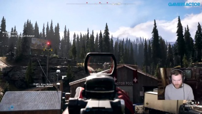 Vi klämmer på co op-delen i Far Cry 5