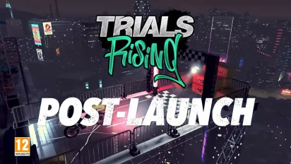 Trials Rising - Post-Launch Trailer
