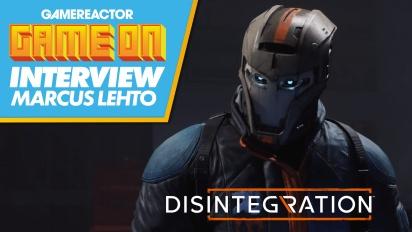 GRTV pratar med producenten bakom Disintegration
