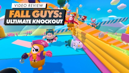 GRTV videorecenserar Fall Guys: Ultimate Knockout