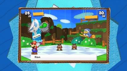 Paper Mario: Sticker Star - October trailer