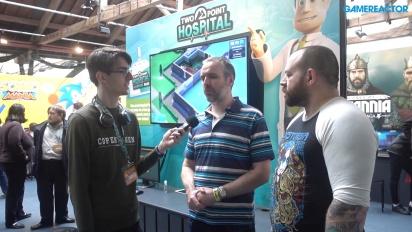 GRTV intervjuar teamet bakom Two Point Hospital
