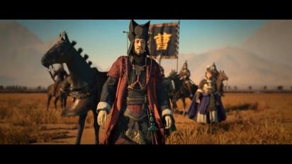 Total War: Three Kingdoms - Fates Divided Announcement Trailer