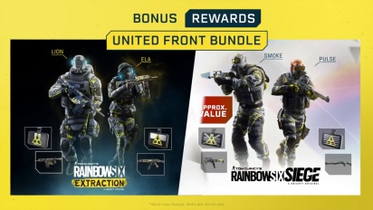 Rainbow Six Extraction: Cross-Play, Siege Bonuses & More
