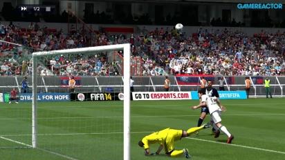 FIFA 14 - Champions League Last 16 - PSG vs Leverkusen