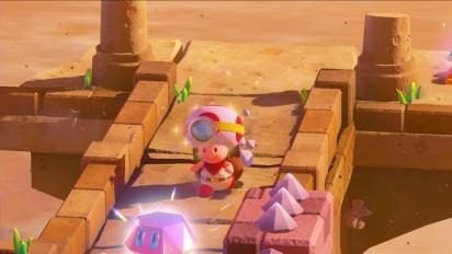 Captain Toad: Treasure Tracker TV Commercial