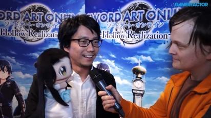 Sword Art Online - Vi pratar lite med Yosuke Futami