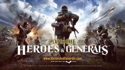 Heroes & Generals - Launch Trailer