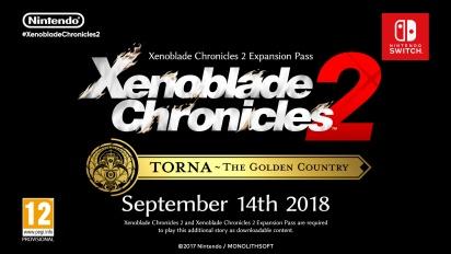Xenoblade Chroncles 2: Torna - The Golden Country - Reveal Trailer