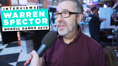 GRTV på Nordic Game 2019: Intervju med Warren Spector