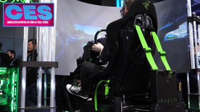 GRTV på CES 2020: Razer Eracing Simulator