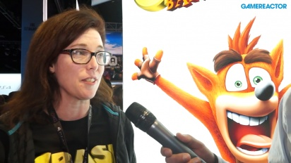 Crash Bandicoot: Nsane Trilogy, intervju med Kara Massey