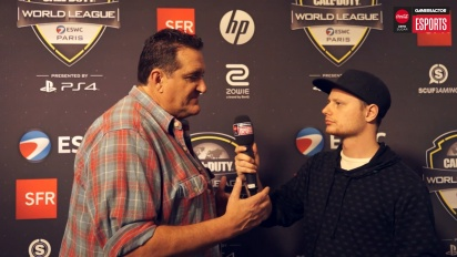 CWL Open Paris - Gamereactor TV pratar med Jay Puryear