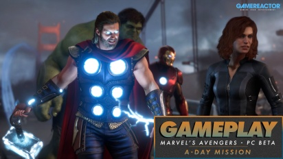 Marvel's Avengers - A-Day Mission PC Beta Gameplay