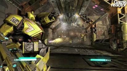 Transformers: Fall of Cybertron - första 10 minuterna