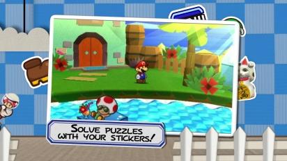 Paper Mario: Sticker Star - Story Trailer