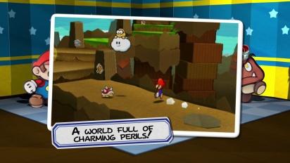 Paper Mario: Sticker Star - Fight Trailer