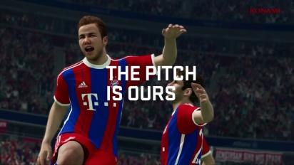 Pro Evolution Soccer 2015 - Official Demo Release Trailer