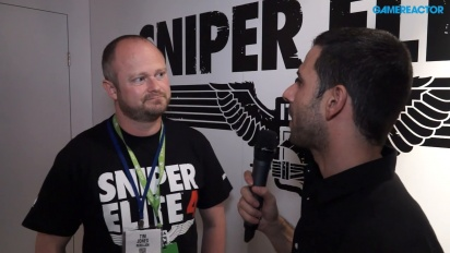 Sniper Elite 4 - Tim Jones-intervju