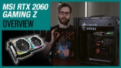 GRTV kikar lite närmare på MSI RTX 2060 Gaming Z
