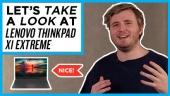 GRTV klämmer lite på Lenovo ThinkPad X1 Extreme