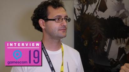 GRTV på Gamescom 19: Intervju med skaparen av Yaga