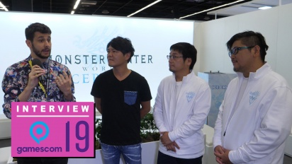 GRTV på Gamescom 19: Intervju med Capcom om Monster Hunter World: Iceborne