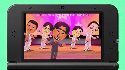 Tomodachi Life - Take a Trip to the Island Trailer