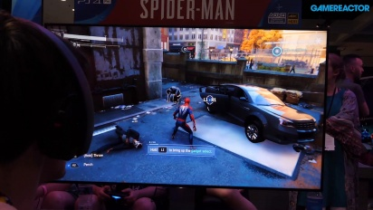 GRTV @ E3 2018: Vi klämmer på Spider-Man