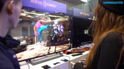 GRTV på PAX 2019: Vi spelar Mortal Kombat 11