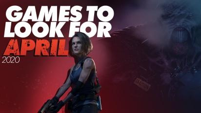 April månads hetaste spel 2020