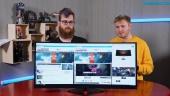 GRTV tafsar en smula på monitorn Omen by HP 35