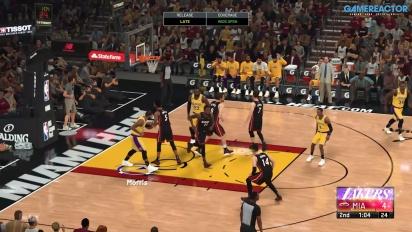 GRTV spelar NBA 2K21 (Lakers vs Heat)