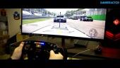 GRTV spelar Project Cars 2 med Fanatecs senaste kringla