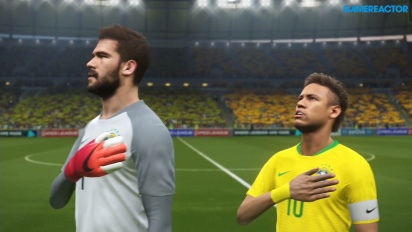 Pro Evolution Soccer 2018 - Data Pack 4.0 Full Match: Brazil-Spain